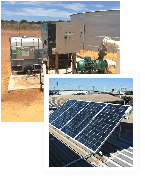 Solar power quality water pump